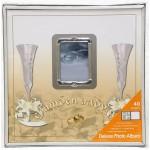 албум за снимки Сватбени чаши