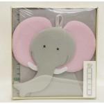Луксозен детски метър за стена и албум за снимки- Слонче