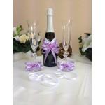Подвижна украса за шампанско и украса за чаши