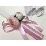 Комплект за Кръщене Розови цветя
