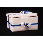 Кутия за подарък или за пари Синя